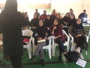 آغاز کلاس تئوری مربیگری درجه یک در تهران