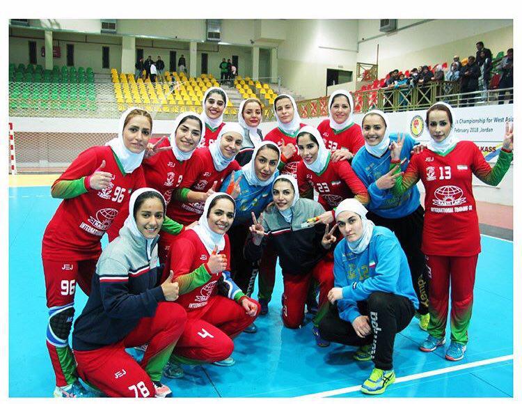 Image result for کسب اولین مدال آسیایی در تاریخ هندبال بانوان ایران